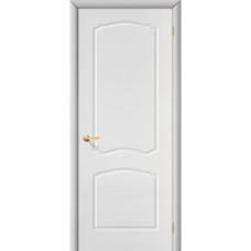 Межкомнатная дверь с ПВХ-пленкой Альфа ПГ белая