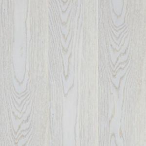 Паркетная доска Focus Floor Oak Etesian White matt (Фокус Флор Дуб Этесиан белый матовый)