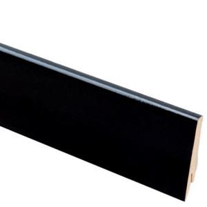Плинтус Greff 1005 Чёрный глянец