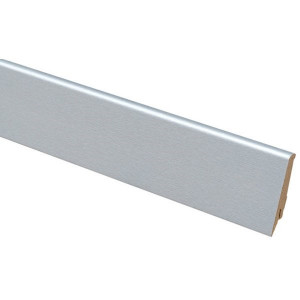 Плинтус Greff 1006 Светлый металл