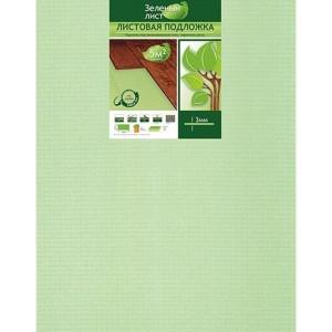 Подложка листовая Solid Зеленый лист